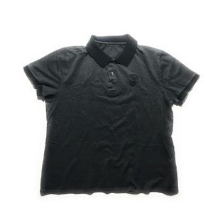 Gianni Versace Collection Half Medusa Polo Shirt